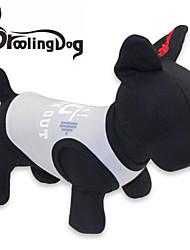 T-shirt voor honden / katten Zwart / Blauw / Grijs Lente/Herfst XS / S / M / L Katoen