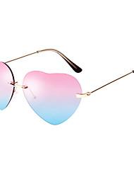 LianSan 100% UV400 Heart Model Wome's Aviator Sunglasses
