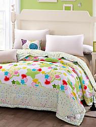 multi cor algodão quilt completo