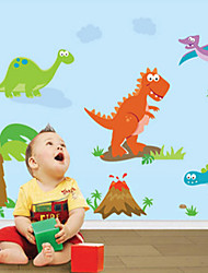 stickers muraux stickers muraux, stickers muraux dinosaure pvc