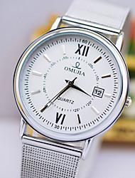yazole моды ультра-тонкий календарь водонепроницаемые часы