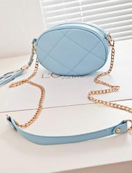 Women Casual PU Zipper Crossbody & Messenger