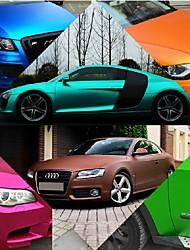 0.76m * 20м полимерный ПВХ матовый хром автомобиля винила обертывания наклейка изменения цвета автомобиля наклейку с воздушных пузырьков