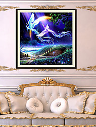 Fly Wing to Wing Products For Crafts Living Room Diamond Cross Stitch Needlework Wall Home Decor 40*40cm