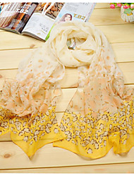 Bufanda Mujer Bonito/Casual - Raso/Poliéster