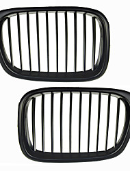 Matte Black Grille Grill Kidney For BMW E39 5 Series M5 95-03