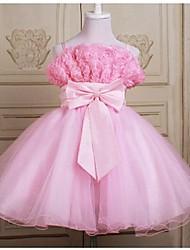 Kid's Casual/Cute/Party Dresses (Chiffon/Cotton/Organza)