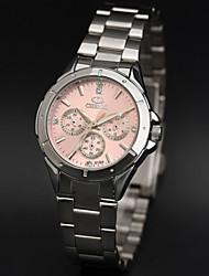 Vendre des montres femmes de mode montre dames de mode de luxe en acier inoxydable regarder les femmes strass montres pour dame
