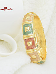 WesternRain Wholesale Gorgeous Fashion Women Multi-Color Royal Vintage Gold Bracelet Jewelry