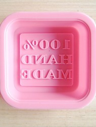 Fashion Silicone Soap Ice Making Mold Kitchen Bakeware Cake Cooking Tools(Random Color)