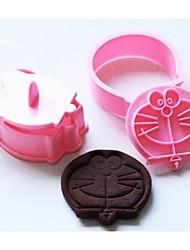 mode fondant taart sugarcraft decoratie cookie cutter chocoladevorm keuken bakvormen koken gereedschap (willekeurige kleur)