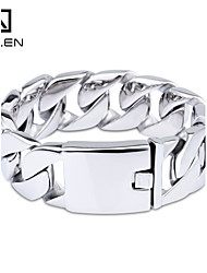 Kalen High Quality Shiny Stainless Steel Cowboy Hunger Games Bracelet