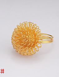 6pcs Flower Napki Ring