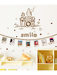 stickers muraux stickers muraux, appareil photo sticker PVC stickers muraux
