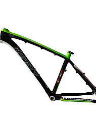 "Neasty Brand MB-NT02 Full Carbon Fiber MTB Frame light green white Color 26er Frame 15""/17"""