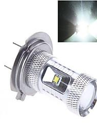 1 pcs CREE H7 50 W 9LED  High Power LED 1200 LM 2800-3500/6000-6500 K Cool White Automobile lamp DC 24/DC 12 V