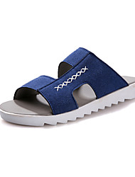 Men's Shoes Outdoor/Casual Faux Suede Sandals Blue/Brown/Gray