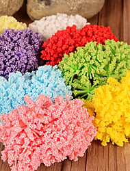 Wedding Décor Lavender Floral Foam (Set of 50 Random Distribution)