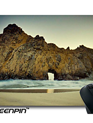 projeto seenpin personalizado mouse pads rochas da praia