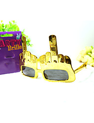 pc grappig middelvingers geek&chique party bril