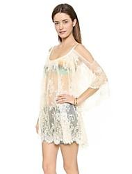 Women's Beach Lace Mesh Sheer Dresses