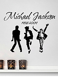 stickers muraux stickers muraux, Michael Jackson bande pvc stickers muraux