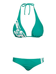 Bikinis/Dos Piezas ( Verde oscuro ) - Impermeable/Transpirable/Materiales Ligeros - para Mujer