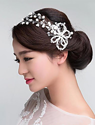 Imitation Pearls Crystal  Wedding/Party Headpieces/Forehead Jewelry