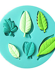 Leaf Fondant Cake Molds Chocolate Mould For The Kitchen Baking Sugar Cake Decoration Tool
