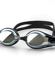Winmax® Men Black Electroplating PC Lens 200 Degree Short Sighted/Myopia Swimming Goggles