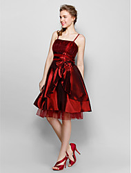 Homecoming Holiday Lady Women's Gorgeous Bow Strapless Dress
