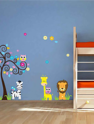 Wall Stickers Wall Decals,  Animals PVC Wall Stickers