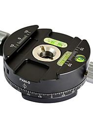 """mengs® pan-0 360 degrés de rotation trépied clip panoramique pince avec 3/8 """"vis de montage"""