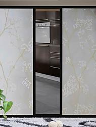 цветок винограда стеклянная дверь стикер оконная пленка&наклейки (100 * 90см)