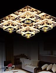 montado al ras ecolight® / led cristal / moderna / contemporánea de estar / cama / estudio / oficina / niños / entrada / pasillo