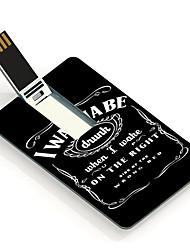 8gb eu quero ser unidade flash USB Cartão do projeto bêbado
