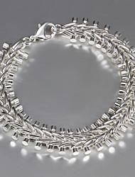 Itália 925 prata pulseiras de venda da promoção pulseira de design de moda amizade