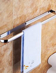 Набор аксессуаров для ванной / Держатель для полотенец / Полка для ванной / Полотенцесушитель / Гаджет для ванной Хром Крепление на стену