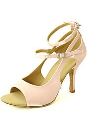 Zapatos de baile (Negro/Azul/Amarillo/Rosado/Morado/Rojo/Blanco/Fucsia) - Danza latina/Salsa - Personalizados - Tacón Personalizado