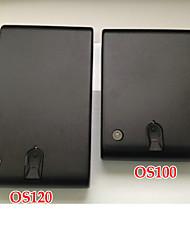 biométrique d'empreintes digitales mini arme à feu en toute sécurité, des bijoux sûre, sécuritaire trésorerie, os120 noir
