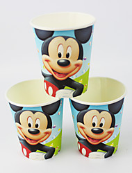 Disney Mickey Mouse Movie Party Supplies Paper Cups 50pcs