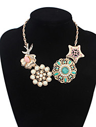 Colorful day  Women's European and American fashion necklace-0526073