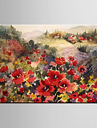 Oil Painting Decoration Pastoral Scenery European Style Landscape Hand Painted Canvas with Stretched Framed L/XL