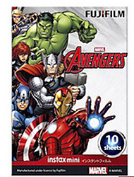 Fujifilm Instax Mini Color Film Avengers