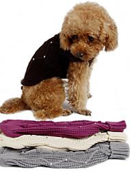 Pawz ropa para perros camino del invierno mascota de lana tejidos de punto jersey de ropa de abrigo perrito ropa cálida