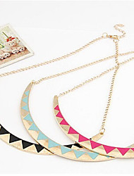 New Arrival Fashional Retro Hot Selling Punk  Drip Moon Necklace