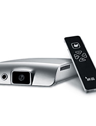 piqs® androide usb portátil proyector DLP wvga sistema de enfoque automático / puerto OTG