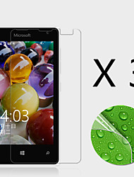 (3 Pcs) High Definition Screen Protector Flim for Microsoft Lumia 435