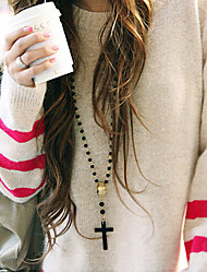 New Arrival Fashional Delicate Bead Cross Necklace