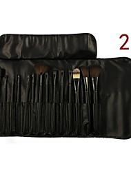 12 Makeup Brush The Original Wood Color Makeup Brush Set